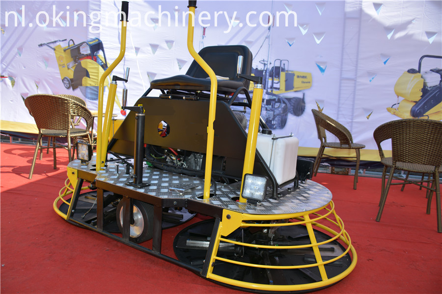 Gasoline Power Trowel Machine
