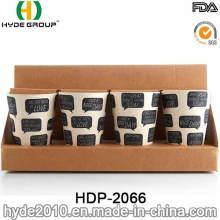 2016 Pretty Design BPA Free Bamboo Fiber Eco Cup (HDP-2066)