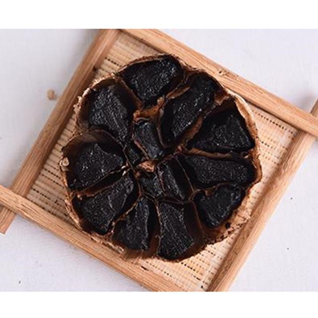 whole black garlic