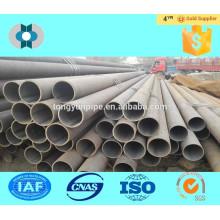 Estrutura de tubos de aço sem costura