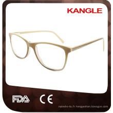 2017 Lady dernière conception petite taille eyehape acétate lunettes optiques et lunettes lunettes