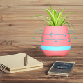 Speaker Flower Pot with Bluehat