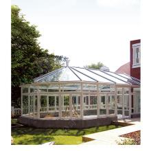 Стеклянный дом с алюминиевым каркасом высшего качества