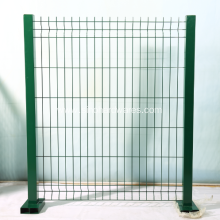 Pvc Coated 3D Welded Wire Fence Panel