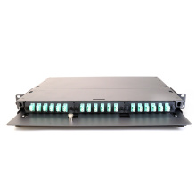19 Rack Mount Panel Fiber Patch