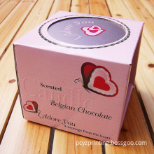 Candle Box/ Candle Packaging Box/ Paper Candle Box Printing