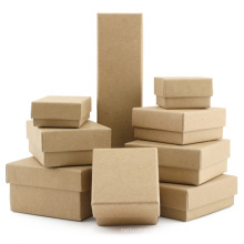 Lid and Base Boxes Customizable Natural Color Lid And Base Packaging Box