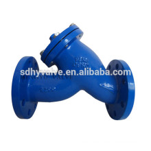 flange end DN50-DN1400 ductile iron y strainer