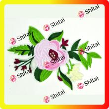 Fashion green flower patches