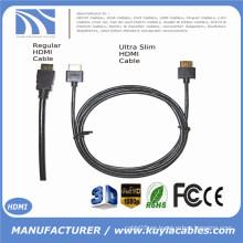 Ultra delgado cable HDMI 6 pies 1.4 versión - HDMI de alta velocidad con Ethernet 3D, PS4, XBox One 1m 2m 3m 5m 10m