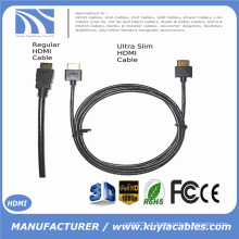 Ultra Slim cabo HDMI 6ft 1.4 versão - HDMI de alta velocidade com Ethernet 3D, PS4, XBox One 1m 2m 3m 5m 10m