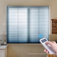 Motorisierte Fenster mit niedrigerer Energierechnung Honeycomb Cellular Blind