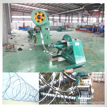 Automatic Razor Barbed Wire Making Machine