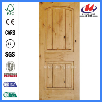 JHK-S04 2 Panel Wooden Shaker Door