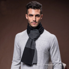Laine de mode en nylon tricoté acrylique tricoté hiver chaud écharpe (YKY4618)