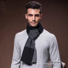 Men′s Fashion Wool Nylon Acrylic Knitted Warm Winter Scarf (YKY4618)