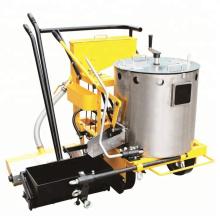 Máquina de marcación de caminos de empuje manual de fusión en caliente de 125 KG
