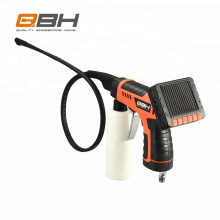 Car evaporator borescope inspection camera for cleaning and inspection