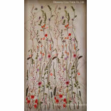 2017hot Мода Цветы Бабочка ткани для вышивки для женщин ткани