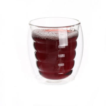 Glass Coffee Mugs Heat-Proof Borosilicate Glass New Design