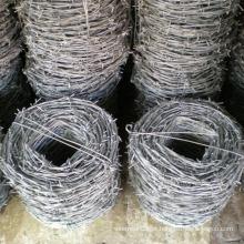 Malha de arame de ferro farpado de linha dupla