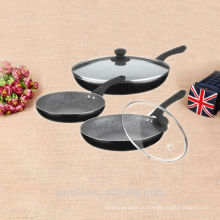 Оптовые фарфоровые изделия антипригарные эмалевые наборы посуды