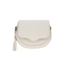 Trendy Ladies Crecent Shoulder Bag Sac de selle PU Wzx1007