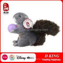 En71 Certificate Toy Squirrel Plush Soft Stuffed Animals