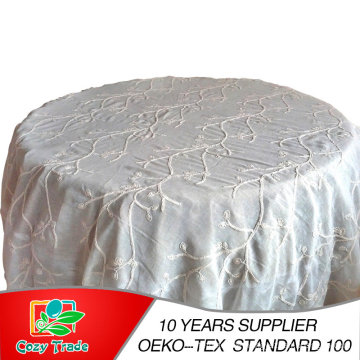 3 in 1 Embroidery, Wedding Tablecloth, Table Cover, Table Linen