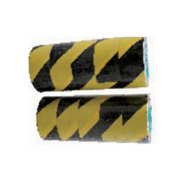 Hazard warning reflective tapes