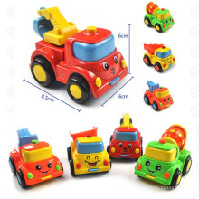 Parts Movable ABS Friction Truck Toy Cars with 4 Designs