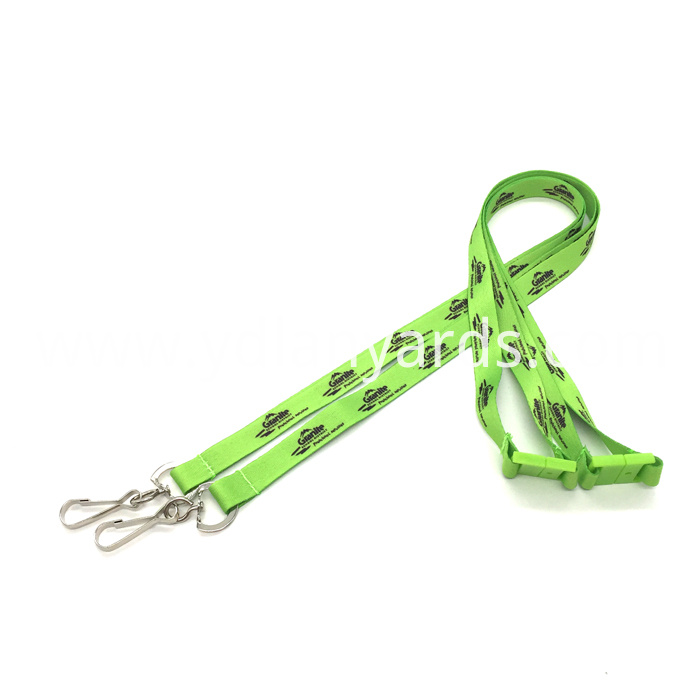 Silk Screen Printed Lanyards