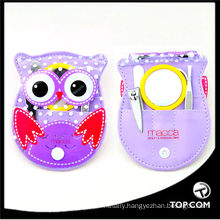 lovely teen girl set manicure set, animal sharp manicure set