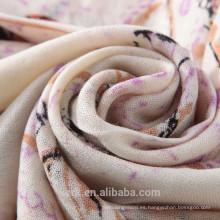 Bufanda de invierno para mujer Bufanda de lana artificial Bufanda larga para abrigo Bufanda a cuadros