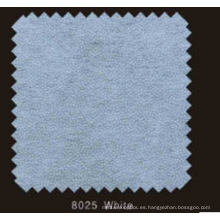 Pasta no tejida de color blanco DOT Interlineado con polvo de PA (8025 blanco)