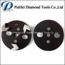 Herramientas de diamante para pisos de concreto HTC Grinding Pad y Trapezoid Grinding Disc