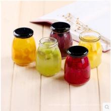 Mini bouteilles de verre de stockage pour le pudding, le miel, le confiture, le pot de nourriture
