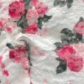 Floral bedruckter Spitzenstoff