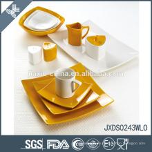 Клиенты из белой и оранжевой керамики по оптовым ценам делают свою собственную посуду