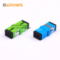 Green SC PC Simplex Duplex Glasfaseradapter