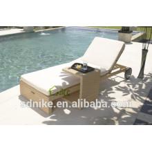 poolside sunbed rattan/wicker furniture