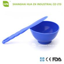 La más nueva calidad superior LFGB, la espátula estándar del tazón de fuente del silicón de la FDA