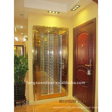 Tür aus rostfreiem Stahl