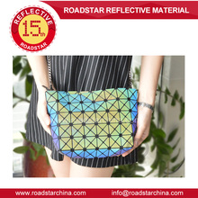 Mirror surface reflective ladies bag