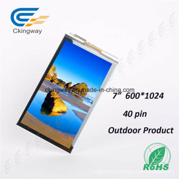 "7"" 40pin Touch Screen TFT Display Screen"
