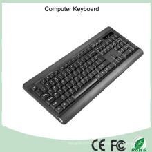 Испанский макет нормальный проводной USB Компьютерная Клавиатура (КБ-1802)