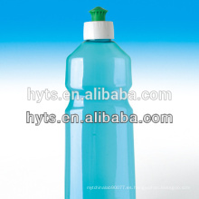 botellas de detergente líquido