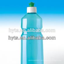 garrafas de detergente líquido