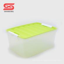 Boîte de rangement en plastique PP polyvalente de haute qualité pour enfants avec couvercle