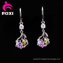 Colorful Gemstone Fancy Earrings for Girls